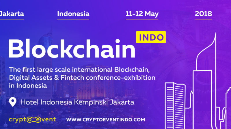 The largest conference Blockchain Indo in Jakarta