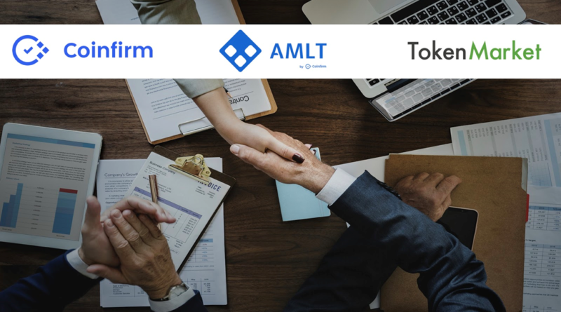 Leading ICO Launchpad TokenMarket Becomes Member of the AMLT Token Network by Coinfirm