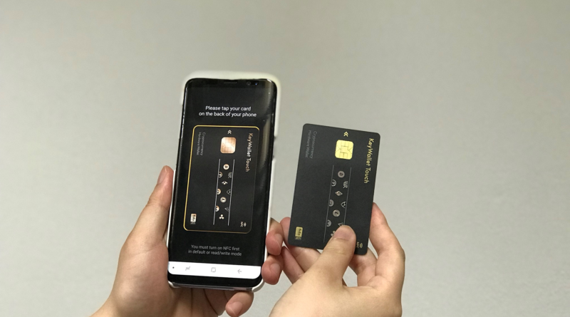 Launch of a NFC Credit Card typed Cryptocurrency Hardware