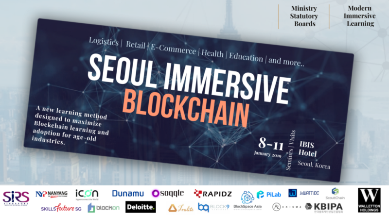 KOREA BLOCKCHAIN IMMERSION TRIP 2 – 6 Sept