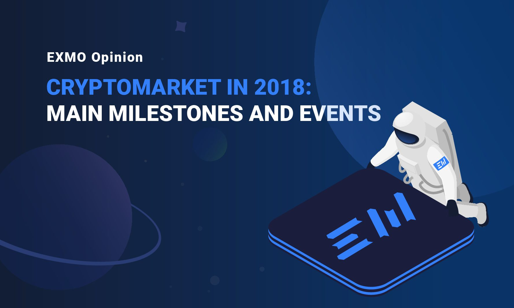 Cryptomarket in 2018: main milestones and events